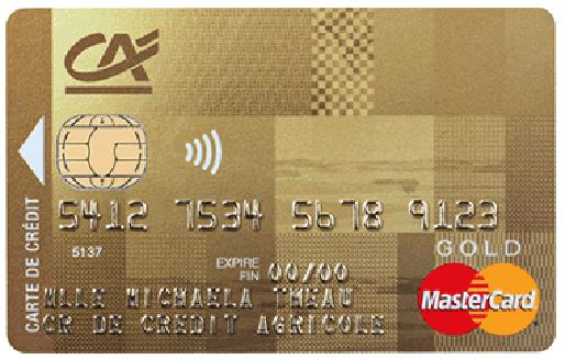 Carte Bancaire Mineur Credit Agricole.Mastercard Gold Du Credit Agricole Avec Plafond De Paiement De 6000