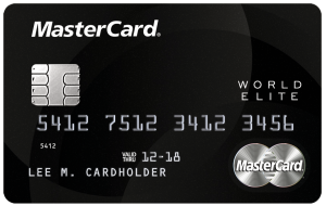 Mastercard Wolrd Elite