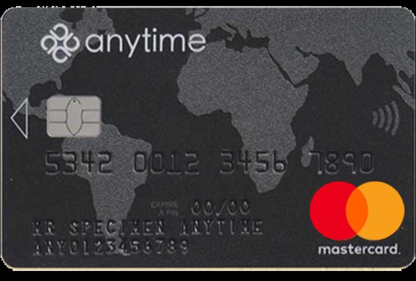 Anytime mastercard