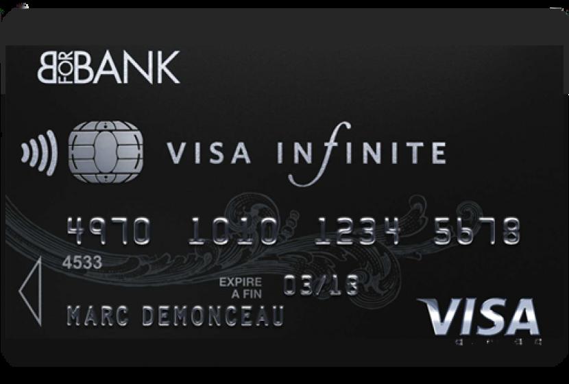 Carte Bleue Infinite Gratuite.Visa Infinite Bforbank