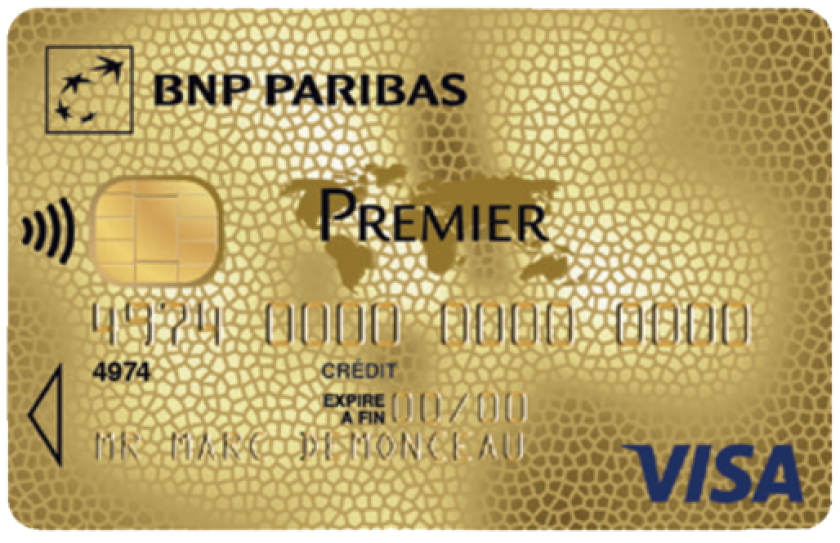 Visa Premier de BNP Paribas