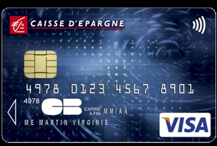 Visa Classic de la Caisse d'épargne