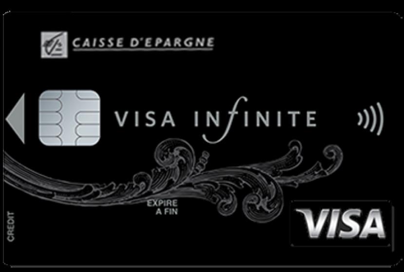 Carte Bleue Infinite Gratuite.Visa Infinite De La Caisse D Epargne