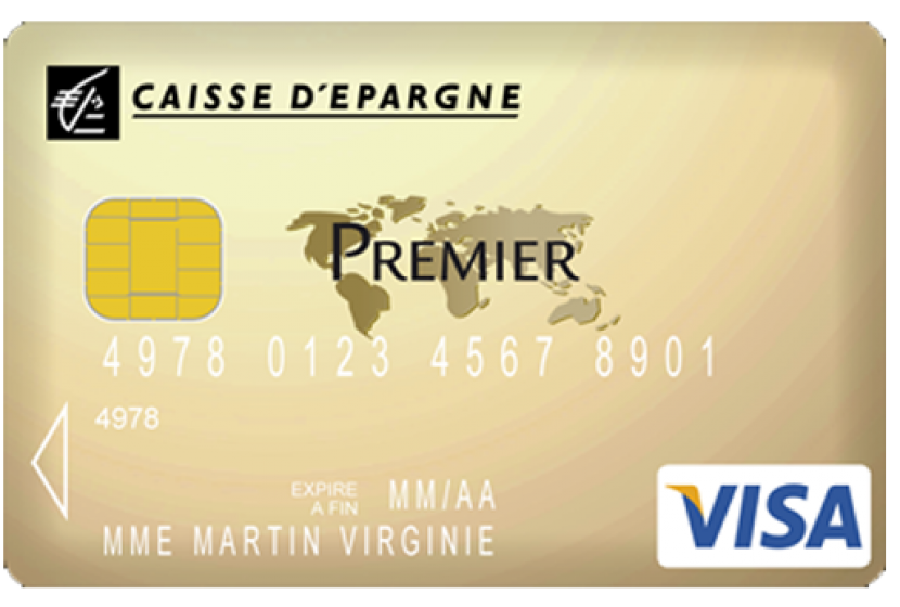 Carte Black Caisse Depargne.Visa Premier De La Caisse D Epargne
