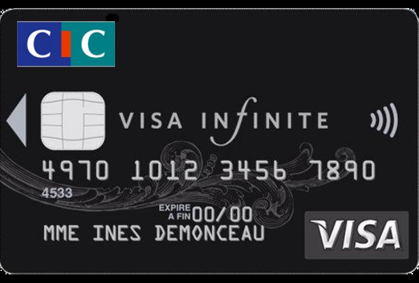 Carte Bleue Infinite Gratuite.Visa Infinite Cic Votre Carte Haut De Gamme