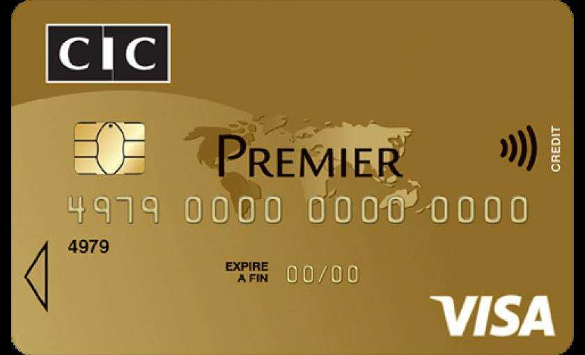 Carte Visa Premier CIC