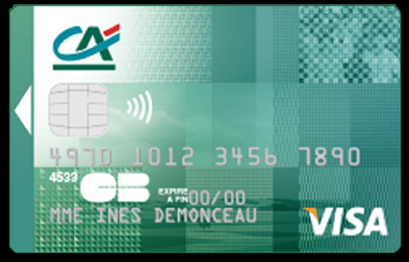 Visa Classic du Crédit Agricole