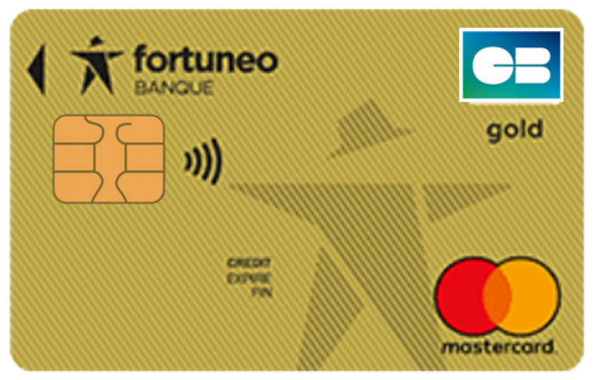 Mastercard Gold Fortuneo