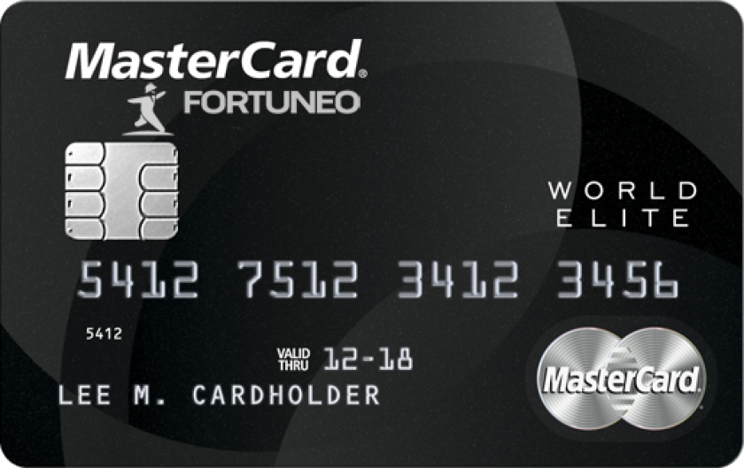 Mastercard World Elite Fortuneo
