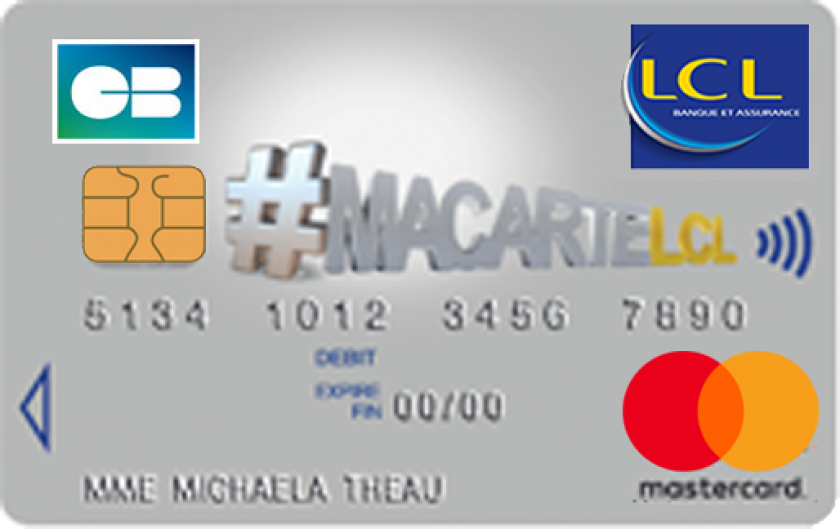 Mastercard mineur MaCarteLCL