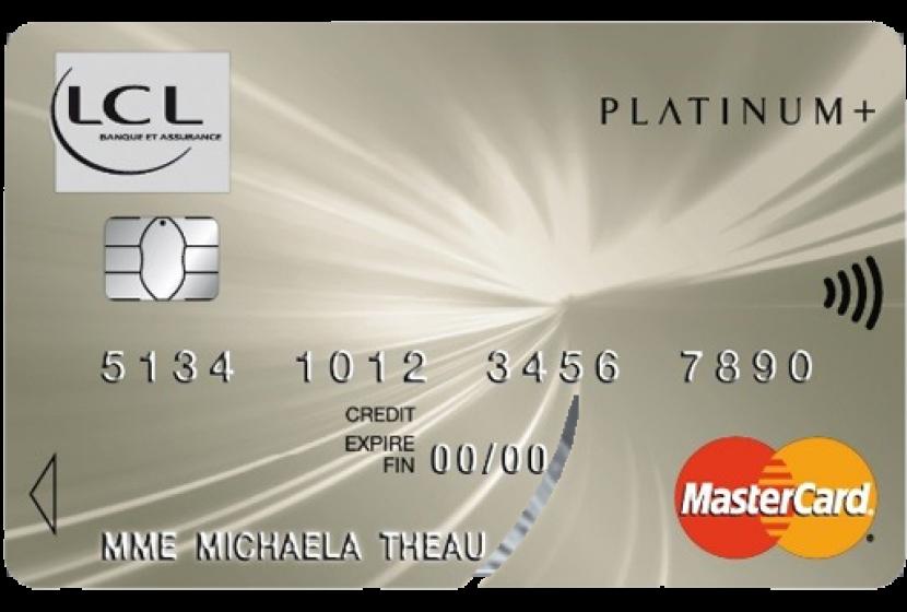 Carte Bancaire Gratuite Lcl.Mastercard Platinum Lcl