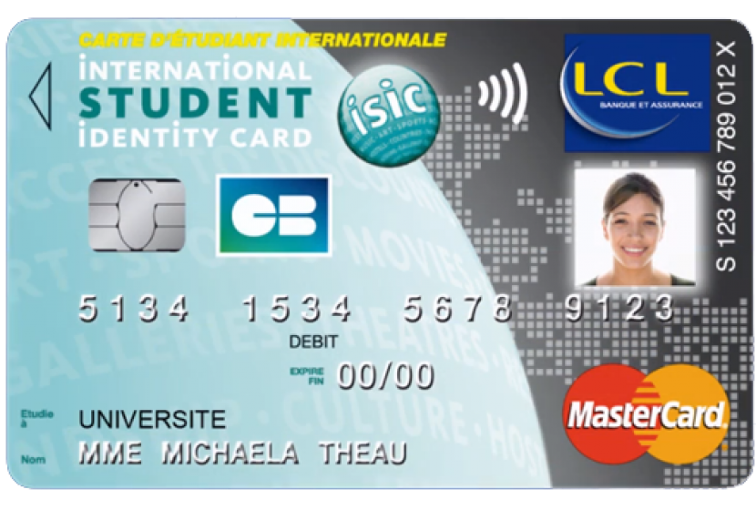 Carte LCL ISIC MasterCard