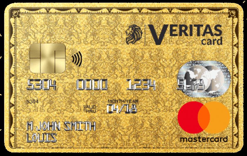 Mastercard prépayée Veritas
