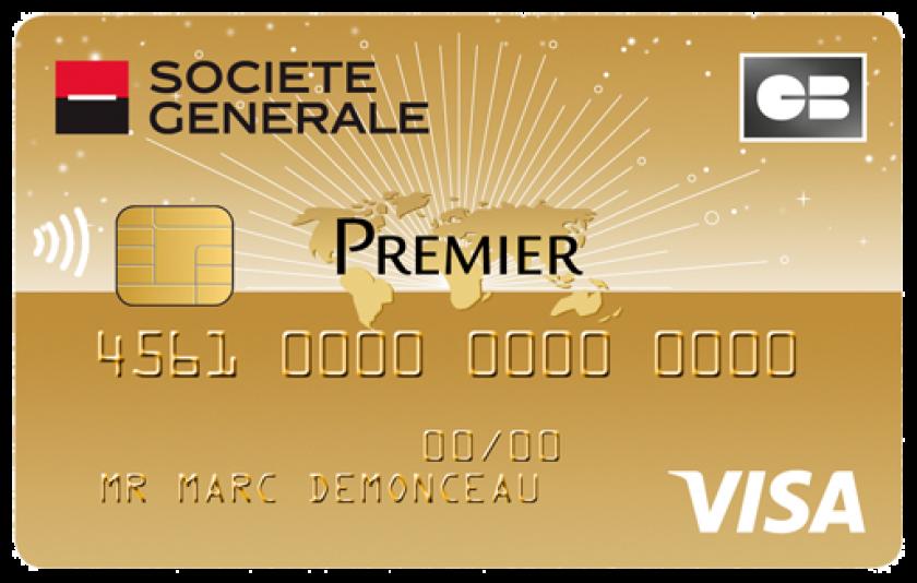 Visa Premier De La Societe Generale