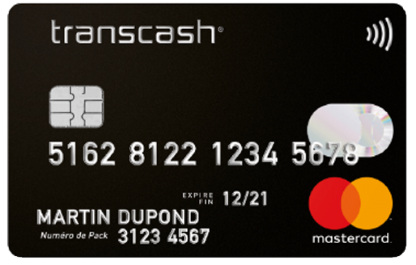 transcash mastercard prepaid