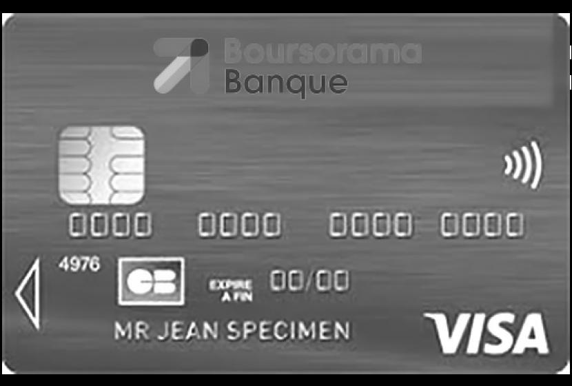 Visa Classic à débit immédiat de Boursorama