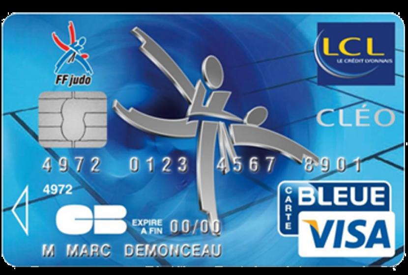 Carte Bleue Gratuite Lcl.Visa Cleo Lcl